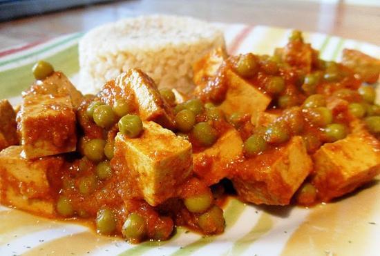 Matar tofu
