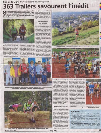 Eac triathlon dans la presse 2010 for Piscine jean bouin evreux