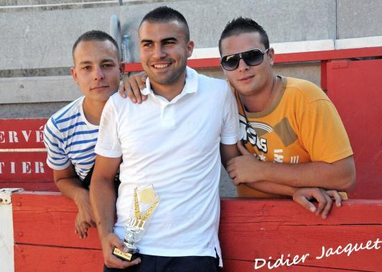 Cédric Navarro et ses supporters garonnais