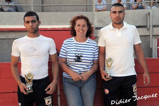 Yacine Fahim et Cédric Navarro reçoivent le prix