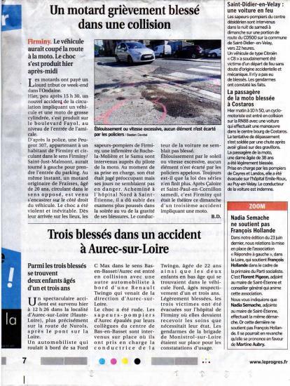 Il faudra encore combien d'accidents pour faire bouger les responsables ? Comment peuvent-ils rester insensibles ?