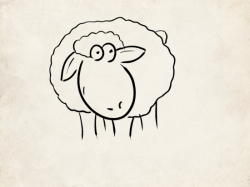 dessin de mouton