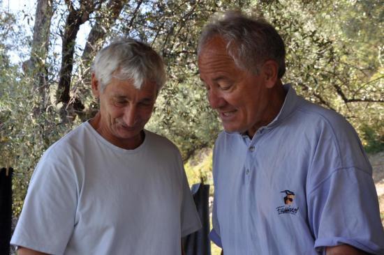 Dumè et François Flori à Montestremo
