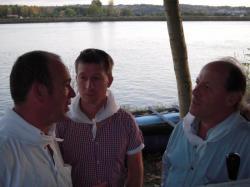 Pierre, Vivian et Christian