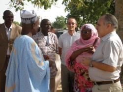 Visite de SE l'Ambassadeur d'Allemagne au village pilote de  Katoual