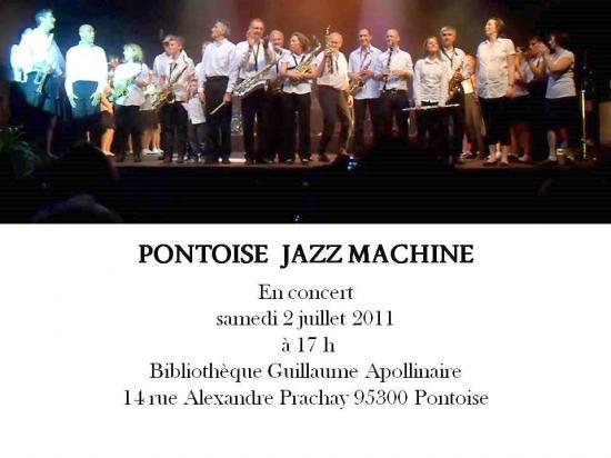 Pontoise Jazz Machine en concert