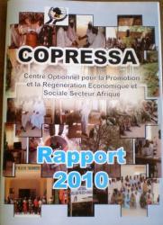 Couverture du rapport 2010