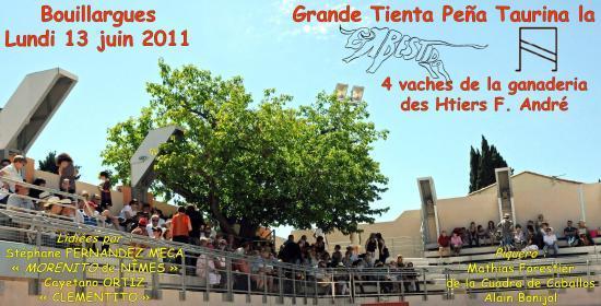 Tienta La Embestida lundi 13 juin 2011