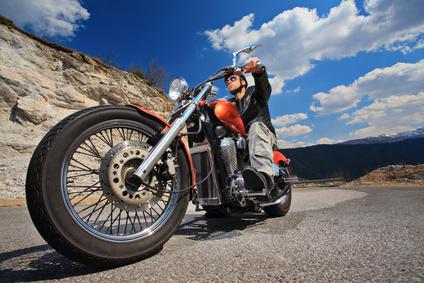 Balade à moto près de Cannes