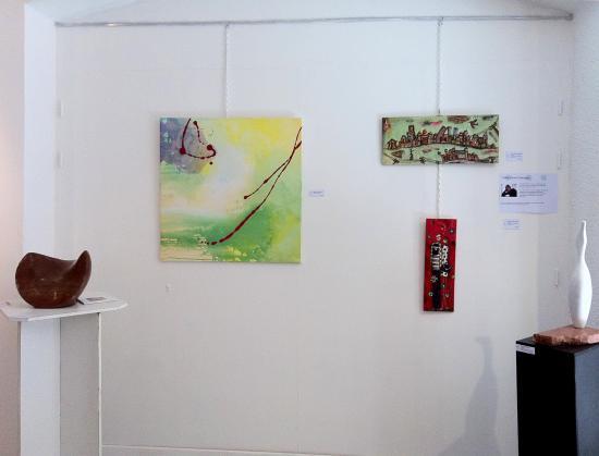 Galerie Arts23 à Pézenas (juillet 2011)
