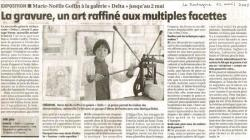 Article de La Montagne du 12 avril 2005.