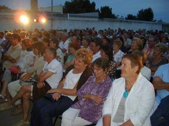 Spectateurs au CRES ( TOC TOC ) 3 juillet 2011