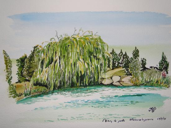 Le lac villeneuve