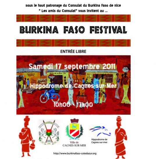 affiche Burkina Festival