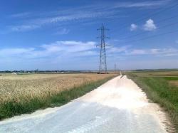 N-Est Caurel:VRTR Tout droit/40 km;