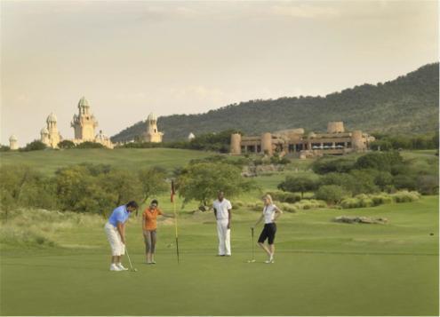 Faire du golf en Afrique du Sud