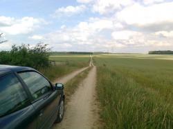 VRTR sur 2km;bois Yoncq au fond