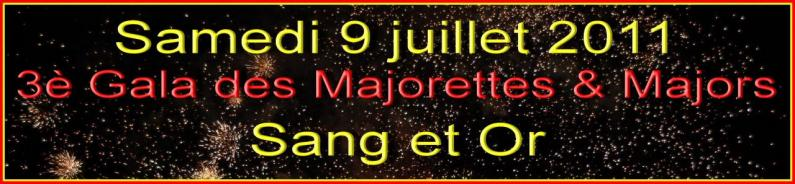 Gala Majorettes et Majors 2011