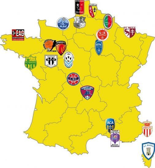 Ligue 2 Saison 2011/2012