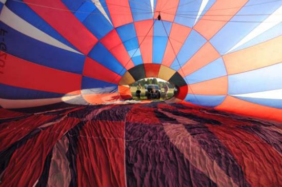 37e championnat de France de montgolfières à Paray-le-Monial