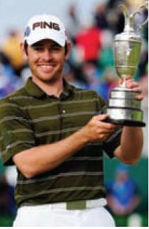 Louis Oosthuizen, vainqueur 2010 du Brithis Open