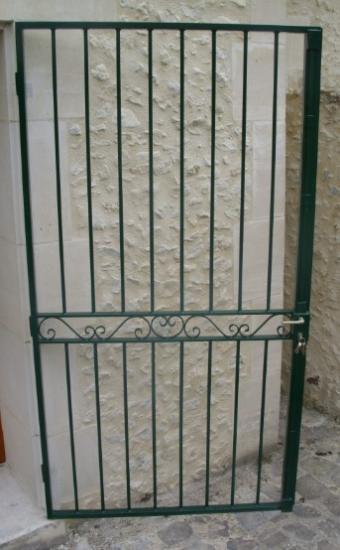 Portail Fer Forgé Sur Mesure Ferronnerie Moderne Du Clermontois - Grille porte