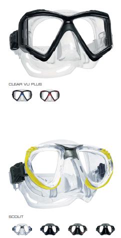 Masque CLEAR VU PLUS