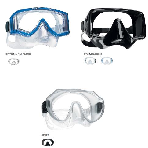 Masque de plongée Frameless 2