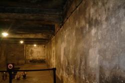 une chambre à gaz d'Auschwitz
