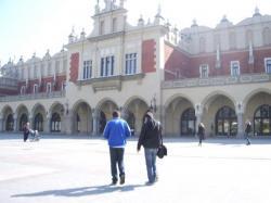 les halles, symbole de Cracovie