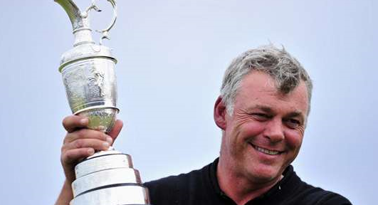 Darren Clarke remporte le British Open 2011