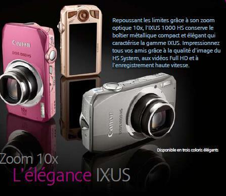 Canon IXUS 1000 HS