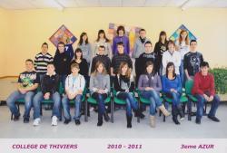 3ème Azur 2010-2011
