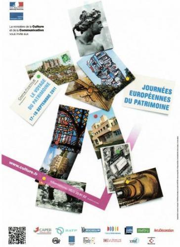 Affiche des JEP 2011