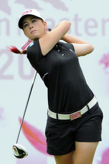 Paula Creamer (la panthère rose la plus charmante du golf)
