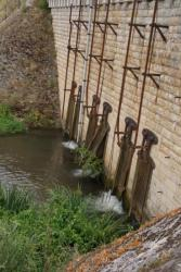canalisation, fermeture