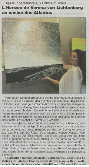 une grande exposition le long du littoral atlantique de verena von lichtenberg. Black Bedroom Furniture Sets. Home Design Ideas