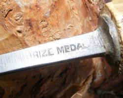 Gouge cuillère Prize Medal
