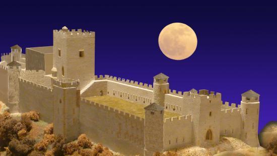 Le chateau au moyen âge