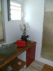 Salle d'eau avec douche Antillaise