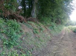 talusVRCK 3,4 mètres, bois de Mellier