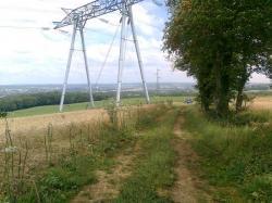 Chemin Laon et Thys,sur voie Castrice