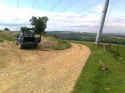 arrivée chemin Laon, de Thys surVRCK