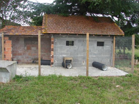 Les instalation de nos amours for Construire une cabane a lapin exterieur
