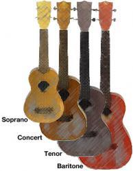 taille ukulele