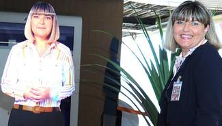 hologramme insolite aeroport orly paris futuriste