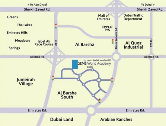Carte Al Barsha