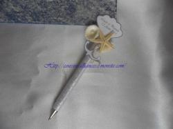 stylo d'or theme la mer