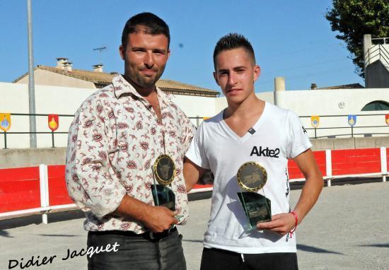 Les Trophées pour la manade Briaux et Nicolas Vera