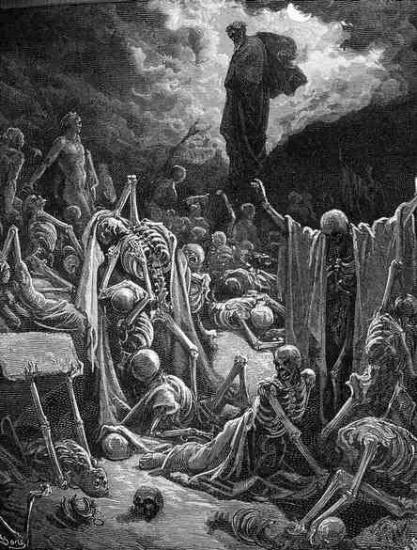 Gustave Doré - Rising of the bones